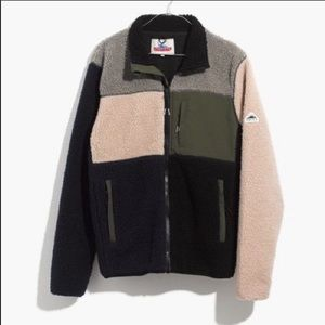 Penfield Mattawa colorblocked fleece